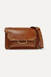 Isabel Marant Maskhia studded leather shoulder bag