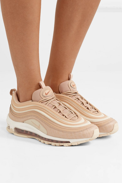 Nike Sneakers Air Max 97 LX croc-effect leather and mesh sneakers
