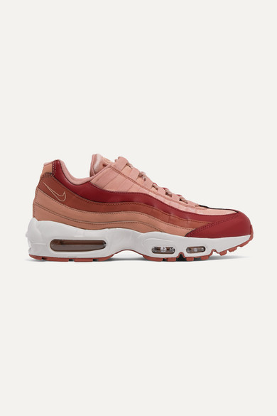 Air Max 95 suede and leather sneakers