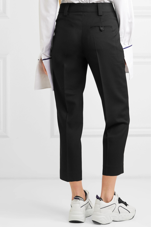 Acne Studios 粒纹面料九分直筒裤