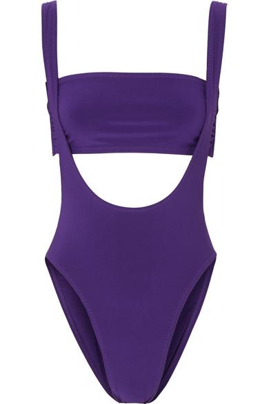 Suspender Marissa Bikini in Purple