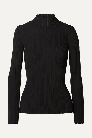 Acne Studios Cottons Kana ribbed cotton-blend sweater