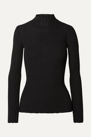 Kana ribbed cotton-blend sweater