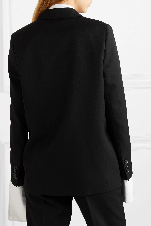 Acne Studios Double-breasted grain de poudre blazer