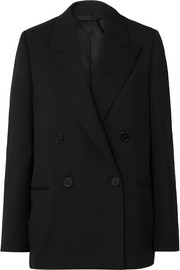 Acne Studios Double-breasted grain de poudre blazer