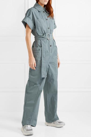 ACNE STUDIOS Cottons Phyllis cotton-twill jumpsuit