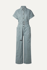 Acne Studios Phyllis cotton-twill jumpsuit