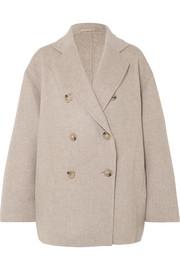 아크네 스튜디오 Acne Studios Odine double-breasted wool and cashmere-blend coat