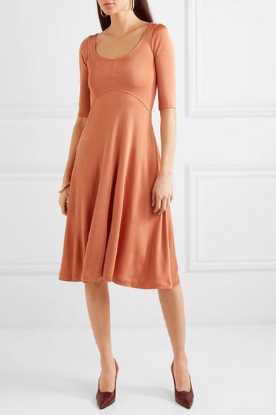 Acne Studios Dress Delana metallic stretch-jersey dress