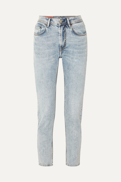 Melk high-rise tapered jeans