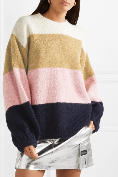 65af61513ea Acne Studios. Kazia oversized striped knitted sweater
