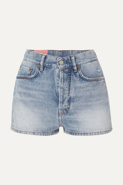Ren distressed denim shorts