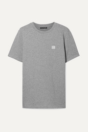 Acne Studios Ellison appliquéd cotton-jersey T-shirt
