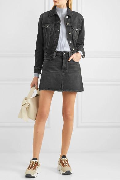 ddaf142c7b Acne Studios | Caitlyn denim mini skirt | NET-A-PORTER.COM