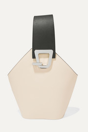 Johnny leather bucket bag