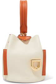 Danse Lente Josh smooth and textured-leather bucket bag