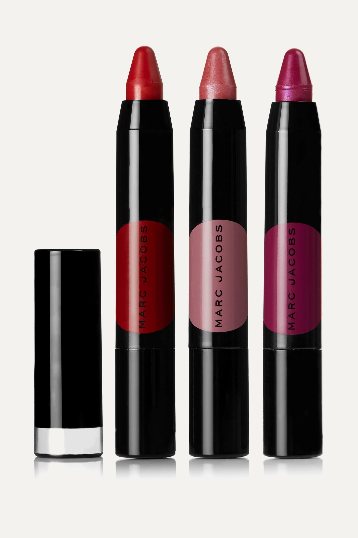 Marc Jacobs Beauty On the Dot 3-Piece Le Marc Liquid Lip Crayon Collection