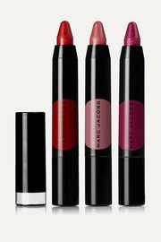 On the Dot 3-Piece Le Marc Liquid Lip Crayon Collection