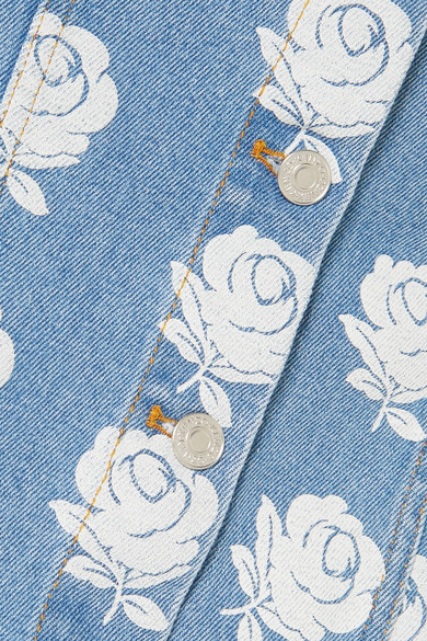 24f623b437 KENZO. Floral-print denim mini skirt. $325 $13060% OFF. Reduced further.  Play