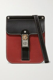Proenza Schouler PS11 Box two-tone leather shoulder bag