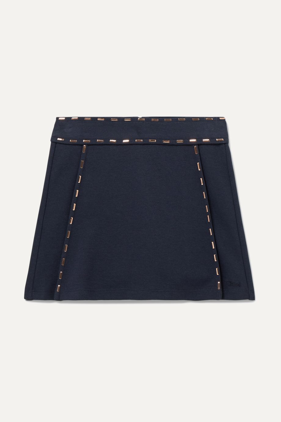 Chloé Kids Ages 2 - 5 embellished stretch-jersey skirt