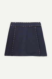 Ages 6 - 12 embellished stretch-jersey skirt