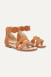 Sizes 25 - 27 studded suede sandals