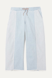 Chloé Kids Ages 6 - 12 two-tone jeans