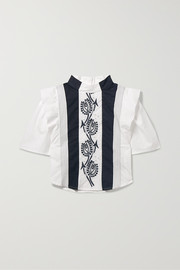Ages 2 - 5 embroidered cotton blouse