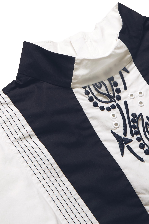 Chloé Kids 6–12 Jahre – Bestickte Bluse aus Baumwolle