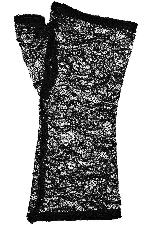 Kiki de Montparnasse Fingerless lace gloves