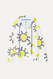 Mira Mikati Oversized printed cotton-terry hoodie