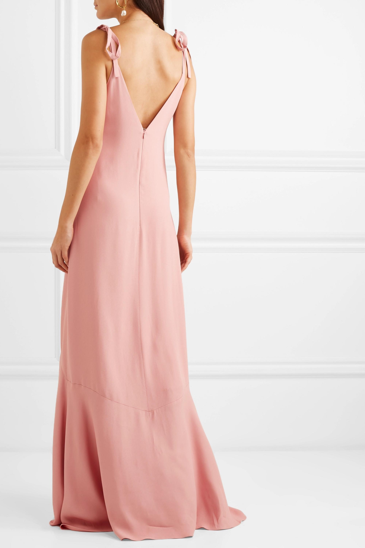 Vanessa Cocchiaro The Aretha crepe maxi dress