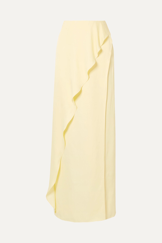 Vanessa Cocchiaro The Ella ruffled satin maxi skirt