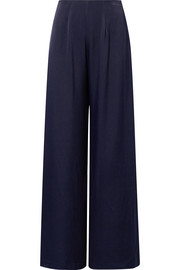 The Coco wide-leg satin pants