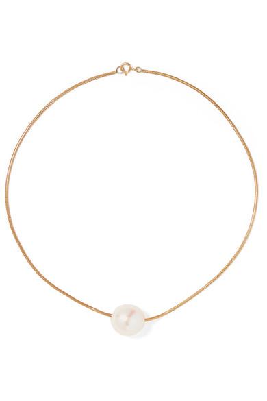 SOPHIE BUHAI Gold Vermeil Pearl Choker