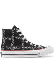 + JW Anderson Chuck Taylor All Star 70 logo-print canvas high-top sneakers