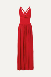 Alaïa Stretch-knit gown