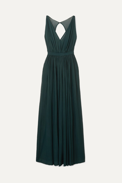 Gathered Tulle Gown by Alaïa