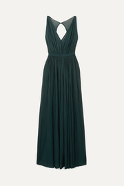 Alaïa Gathered tulle gown