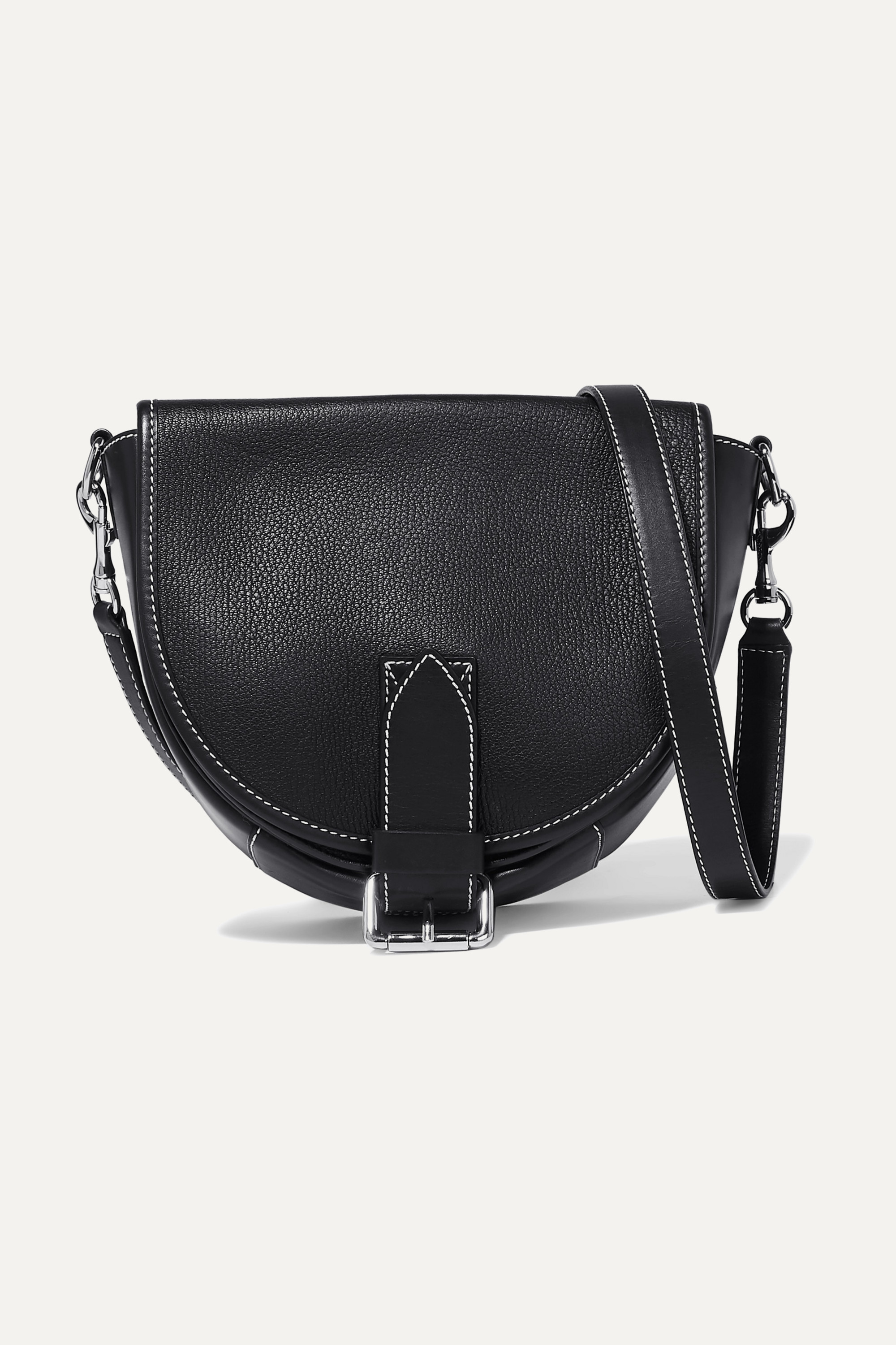 JW Anderson Bike small smooth and textured-leather shoulder bag