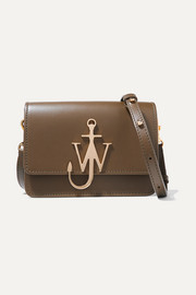 JW Anderson Logo mini leather shoulder bag