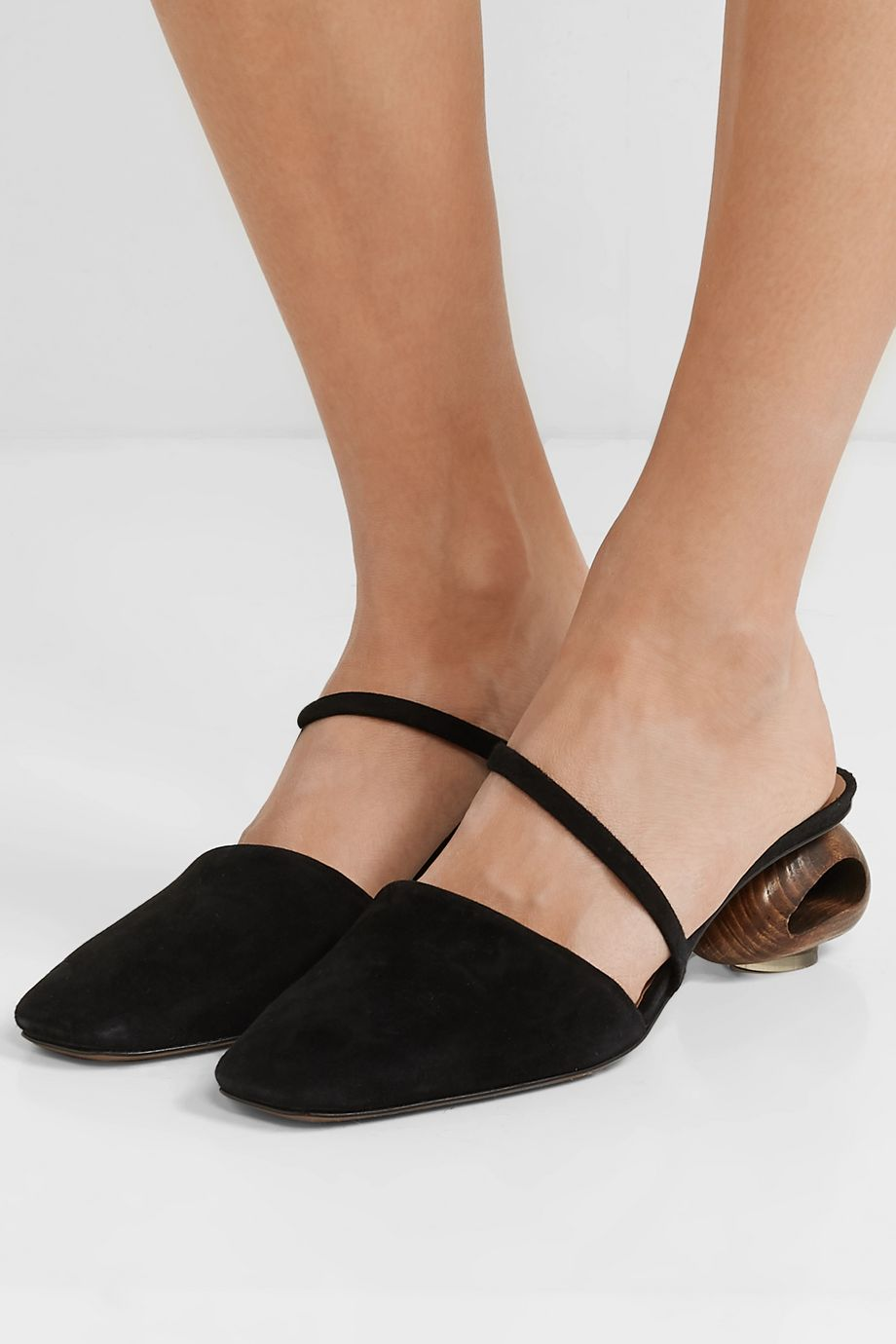Neous Disa suede mules
