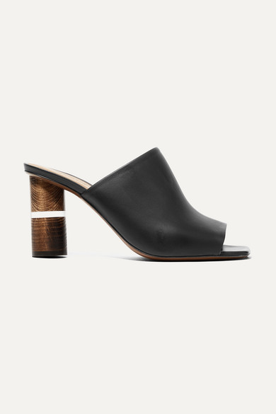 Cerato Leather Mules by Neous