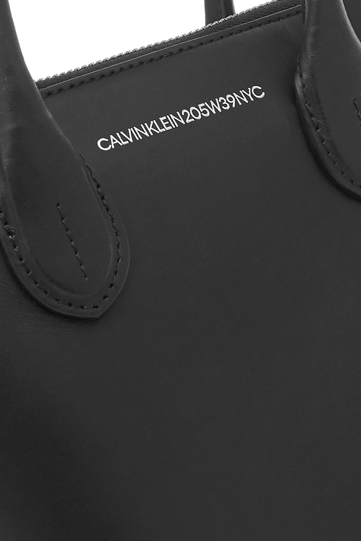 CALVIN KLEIN 205W39NYC Dalton mini leather bucket bag