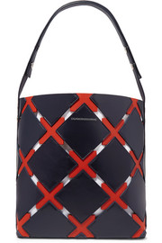 CALVIN KLEIN 205W39NYC Cassidy Quilt cutout leather tote