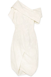 Vivienne Westwood Asymmetric organic cotton-jacquard dress
