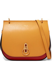 Mulberry Amberley color-block textured-leather shoulder bag