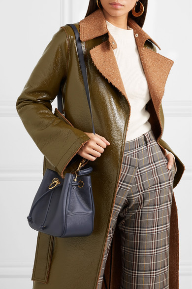Mulberry. Hampstead small textured-leather bucket bag. HK 8,900. Play b1481b91f0