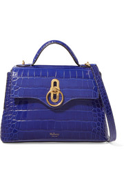 Mulberry Seaton mini croc-effect leather shoulder bag
